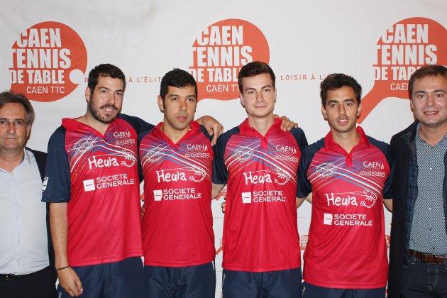 Tennis de table : le Caen TTC présente son équipe et ses ambitions
