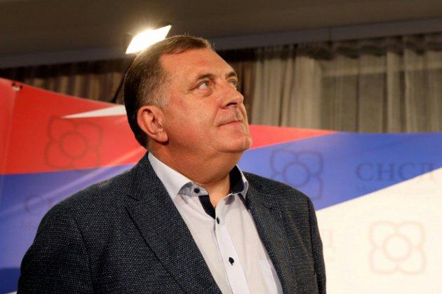 Présidence bosnienne: victoire du nationaliste serbe Dodik