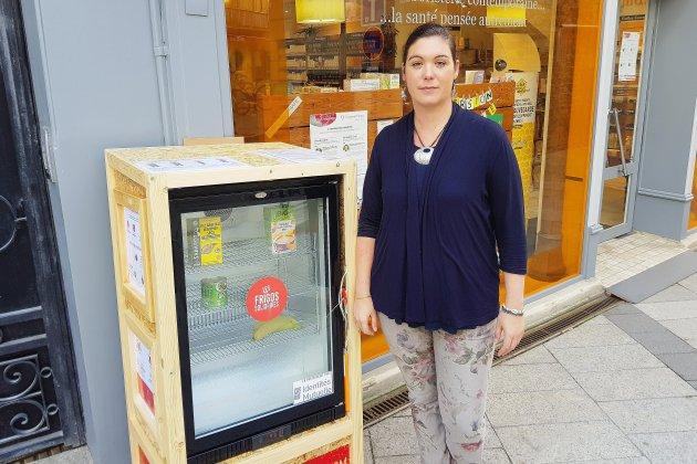 Caen: un premier frigo solidaire installé en centre-ville