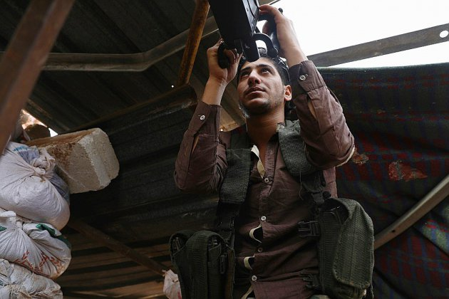 En Syrie, la plupart des armes lourdes retirées de la future