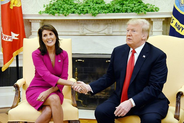 Démission surprise de Nikki Haley, l'ambitieuse ambassadrice de Trump à l'ONU