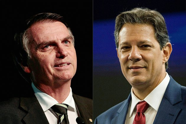 Au Brésil, Bolsonaro et Haddad qualifiés mais détestés aussi