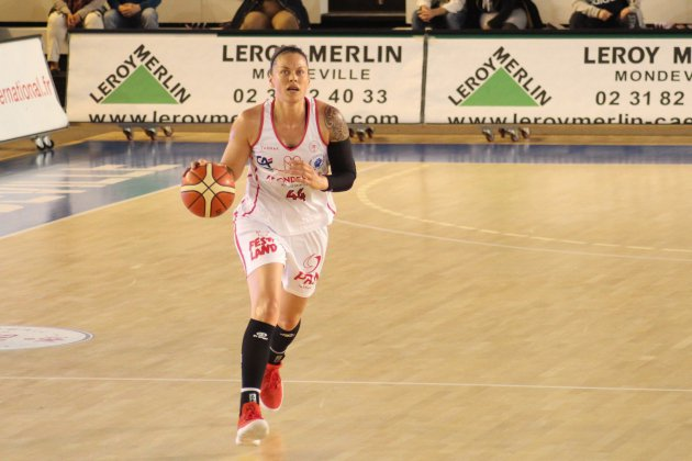 Basket(LFB) : Mondeville n'a pas résisté à Villeneuve d'Ascq
