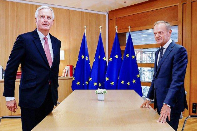 """Brexit: l'UE demande à Londres d'être """"créatif"""" pour sortir de l'impasse"""