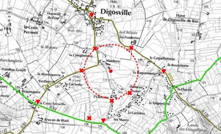 En direct: Le désamorçage de la bombe a commencé à Digosville