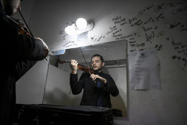 A Buenos Aires, un orchestre virtuose d'exilés vénézuéliens