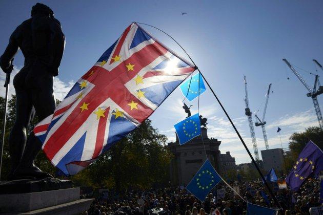 Brexit: mobilisation massive à Londres pour réclamer un second référendum