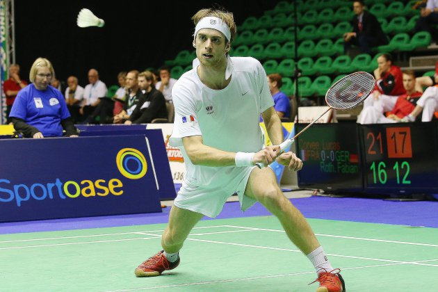 Badminton: Lucas Corvée éliminé au premier tour