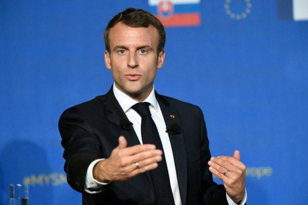 """Khashoggi : pour Macron, """"c'est pure démagogie que de dire d'arrêter de vendre des armes"""" à Ryad"""