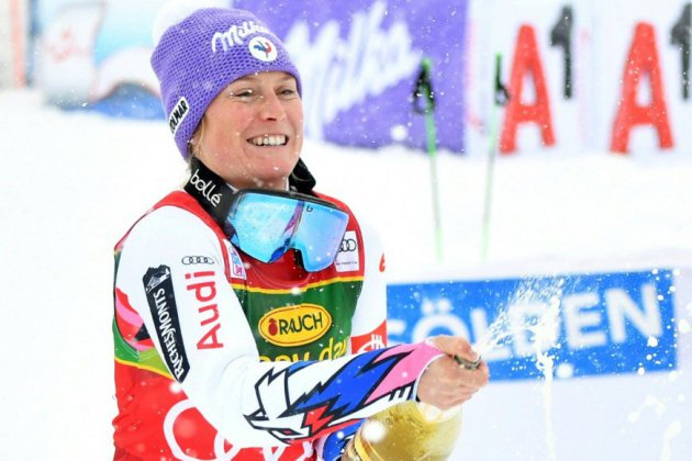 Ski alpin: Tessa Worley remporte le géant d'ouverture à Sölden