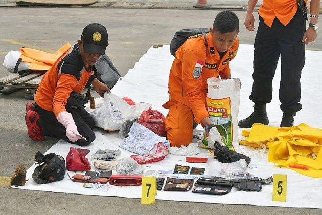 Accident d'avion en Indonésie: les secours retrouvent de nouveaux restes humains