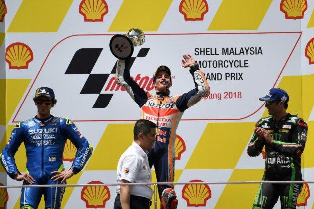 MotoGP: Marquez et Zarco profitent des malheurs de Rossi au GP de Malaisie