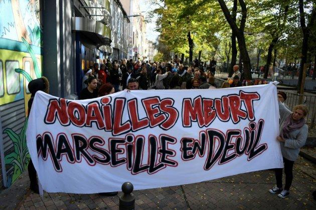 Des Marseillais en colère après le drame de la rue d'Aubagne
