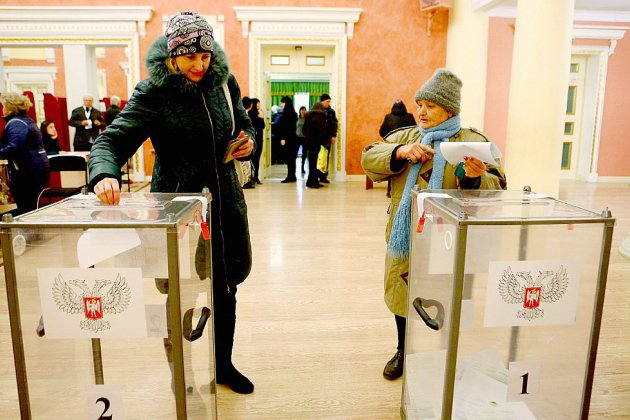 Kalachnikovs et tirage au sort: élections séparatistes en Ukraine