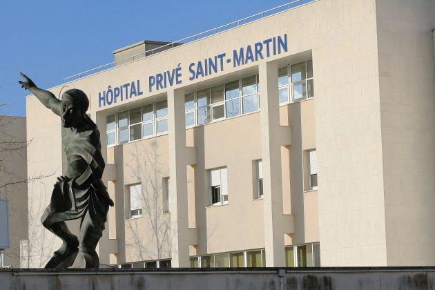 Hôpital Saint-Martin à Caen: les urgences rouvrent la nuit