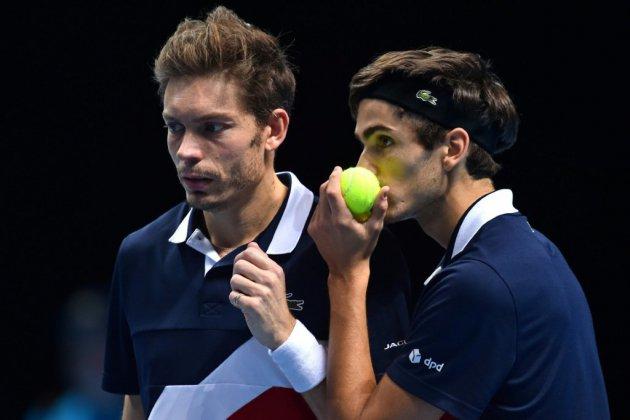 Tennis: Mahut et Herbert tombent d'un souffle en finale du Masters de double