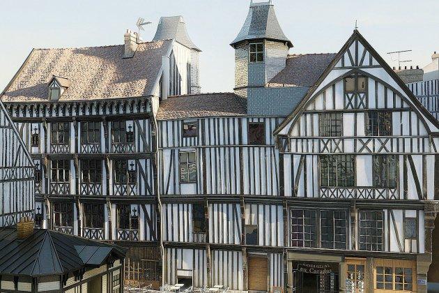 Rouen: aux frontières du virtuel