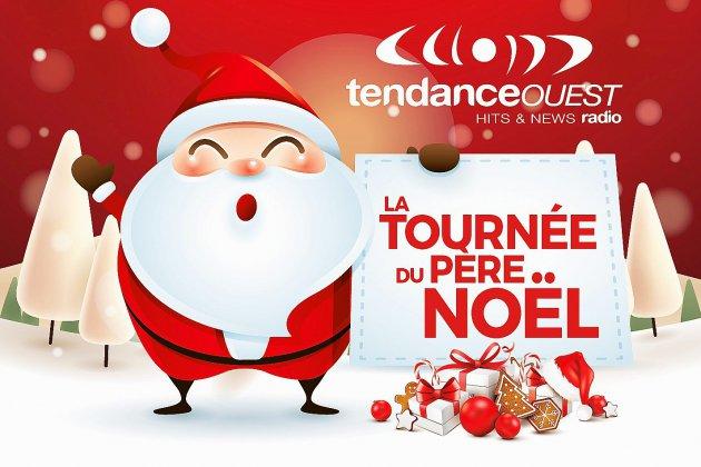 La tournée du père Noël Tendance Ouesten Normandie