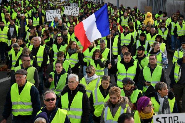 Gilets jaunes et cheveux blancs: les retraités toujours mobilisés pour leur pouvoir d'achat