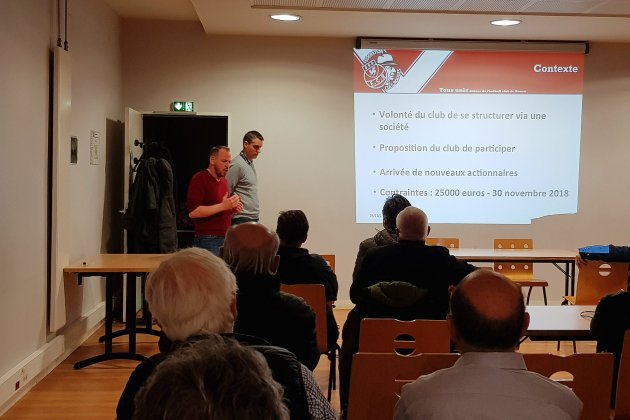 Levée de fonds: les supporters du FC Rouen réussissent leur pari