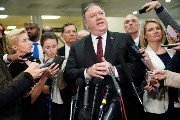 Pompeo et Mattis au Congrès pour défendre Ryad