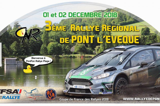 Le 3eme Rallye Régional de Pont l'Evêque ce weekend