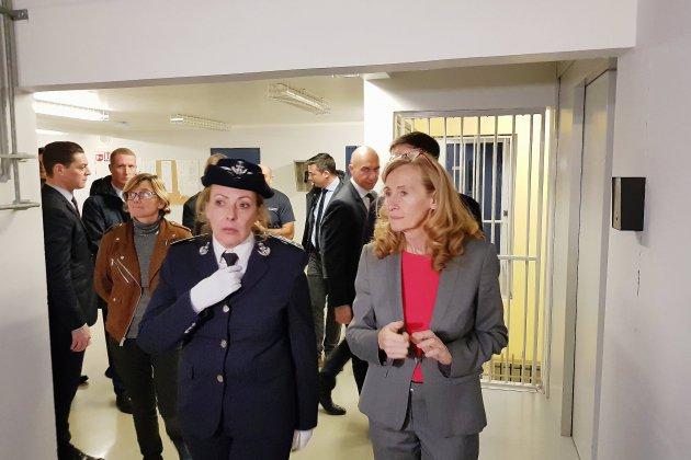 La ministre de la justice à la prison du Havre