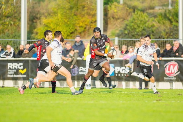 Le Rouen Normandie Rugby collectionne les points bonus
