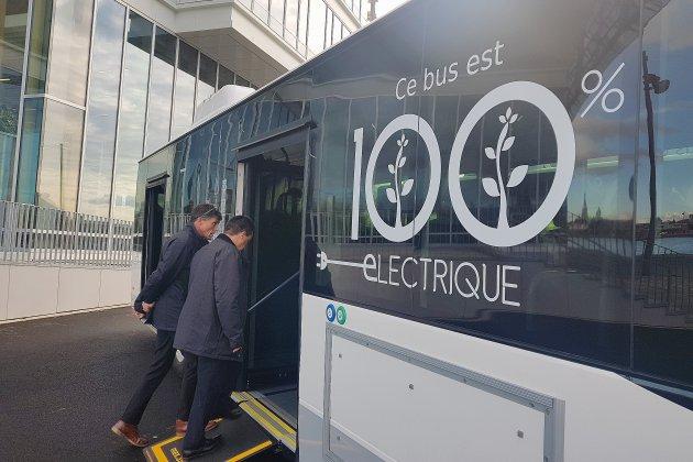Rouen. [Vidéo] Deux bus électriques circulent dans la Métropole de Rouen