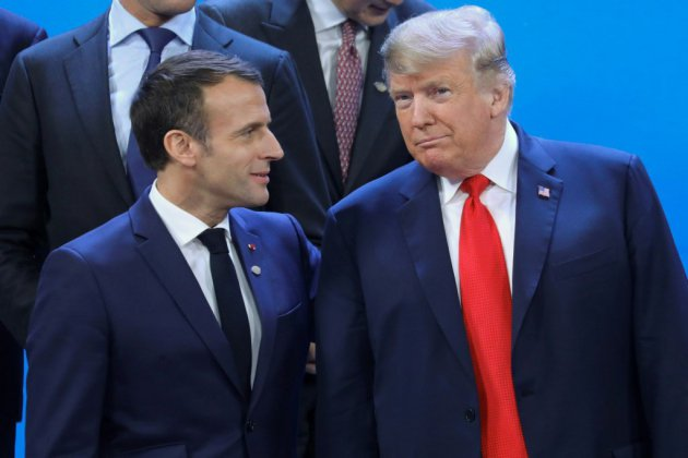 Trump ironise sur le recul de Macron et sur l'accord de Paris