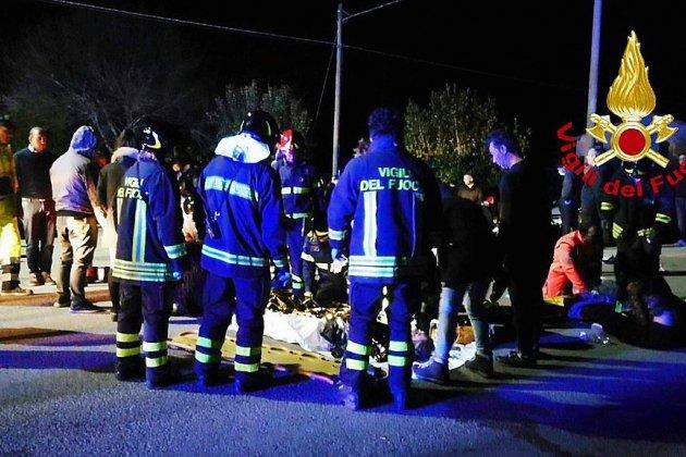 Panique dans une discothèque en Italie: 6 morts, des dizaines de blessés