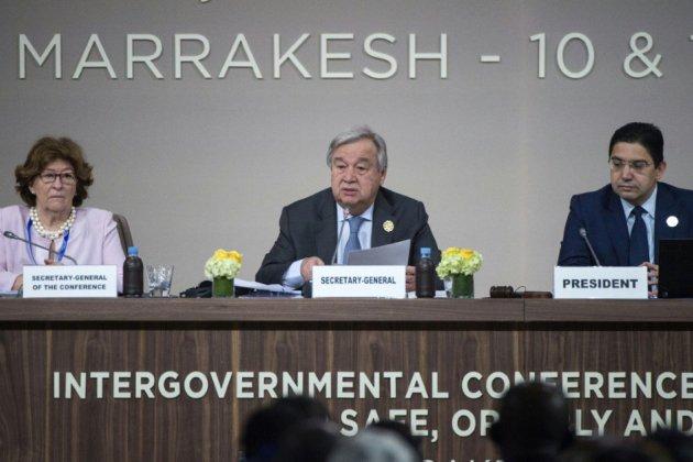 La conférence de Marrakech approuve le Pacte Mondial pour les migrations