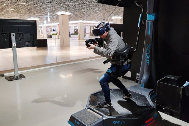 On a testé pour vous: le parc de réalité virtuelle de Rouen [photos et vidéos]
