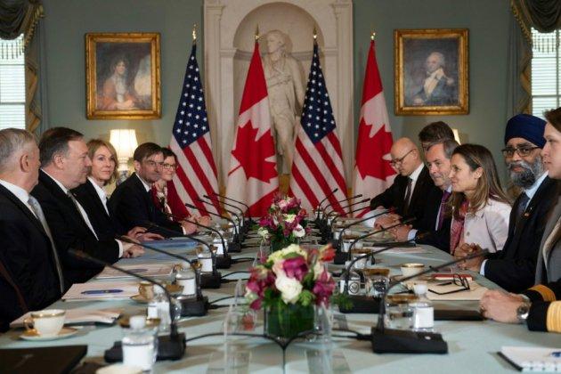 """Affaire Huawei: Etats-Unis et Canada promettent de """"respecter l'Etat de droit"""""""
