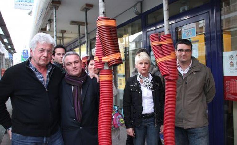 Cherbourg : les commerçants de Schuman veulent être indemnisés