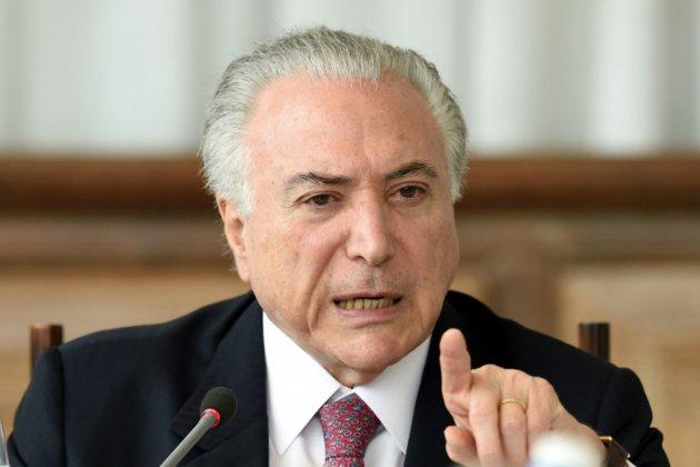 Brésil: Michel Temer accusé de corruption et blanchiment d'argent