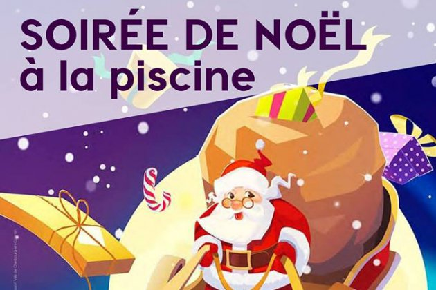 Fêtez Noël à la piscine de Collignon à Tourlaville