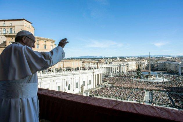 """Le pape appelle à la paix et à la """"fraternité"""", Noël plus apaisé à Bethléem"""
