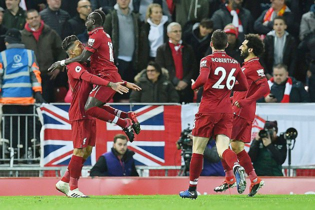 Angleterre: Liverpool avale Arsenal, en attendant Man City