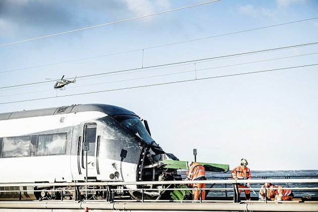 Un accident de train fait six morts au Danemark