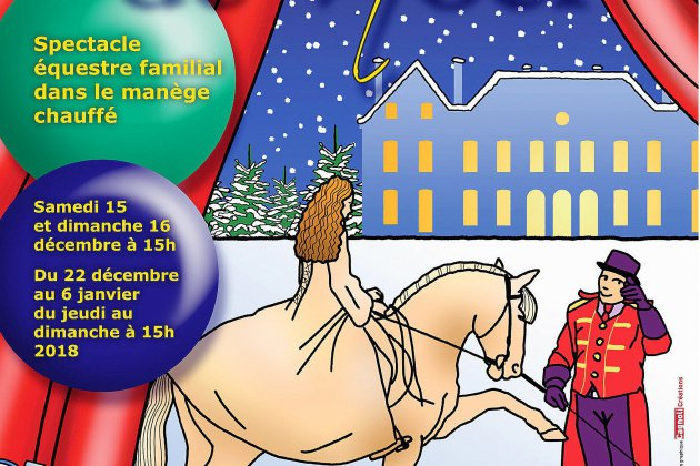 Noël au Show: le spectacle équestre du Haras National du Pin