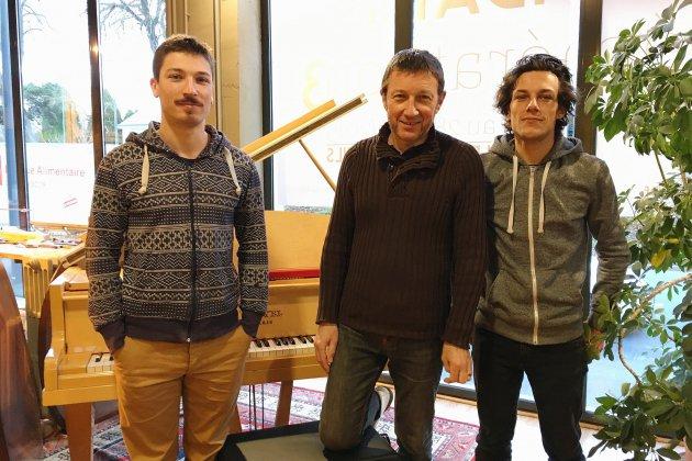 Musique : la troisième génération aux commandes de Bonnaventure à Caen