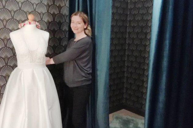 Caen. Un nouveau showroom de robes de marié