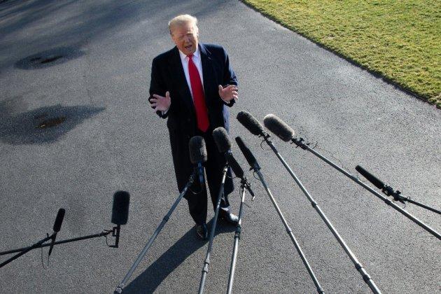 Trump, le mur et le budget: négociations dans l'impasse