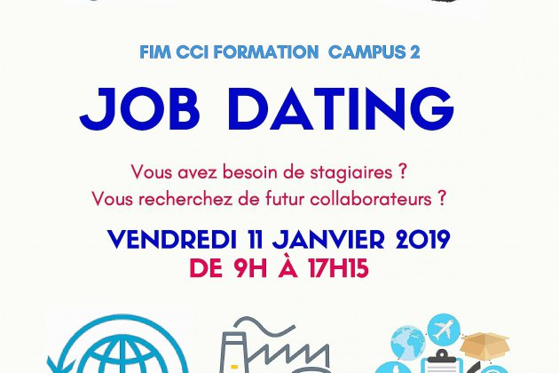 Le groupe FIM organise son job dating