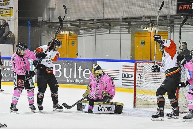 Hockey : les Dragons de Rouen abordent une double confrontation face à Nice