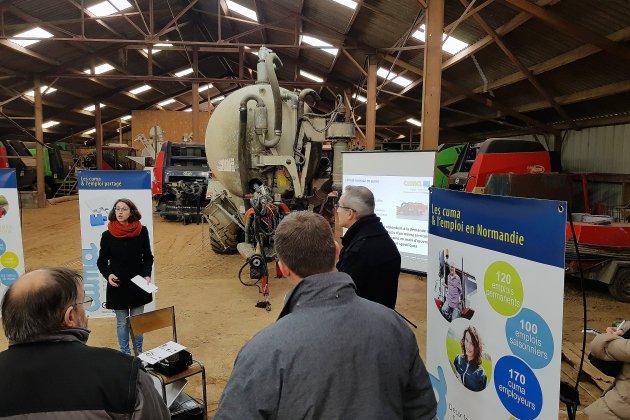 Emploi partagé dans l'agriculture: des portes ouvertes en Normandie