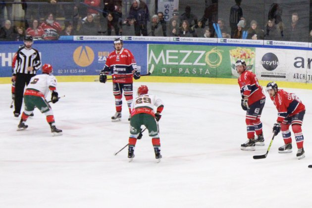 Hockey sur Glace (D1) : Caen s'incline à la Roche et sort du top 8