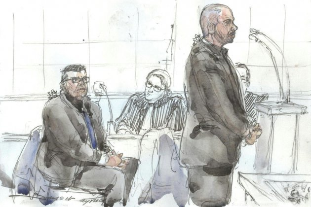 Viol au 36 quai des Orfèvres: les deux policiers face à leur accusatrice aux assises