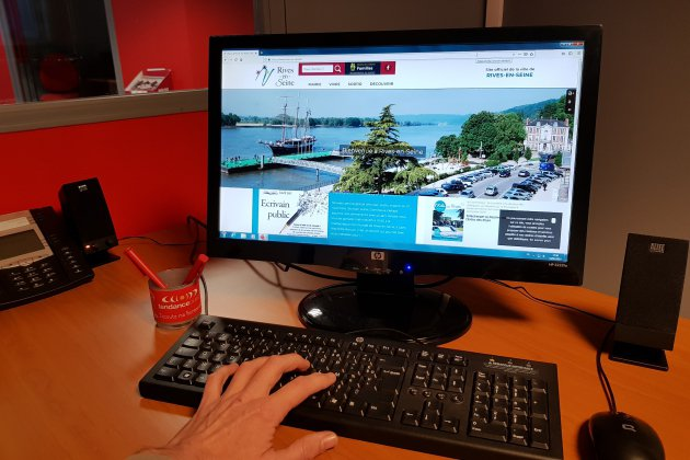 Nouveau site internet pour Rives-en-Seine